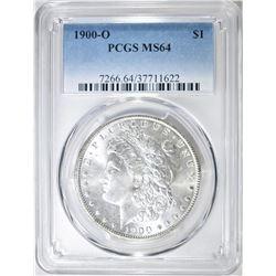 1900-O MORGAN DOLLAR  PCGS MS-64