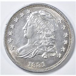 1831 BUST DIME  AU/BU