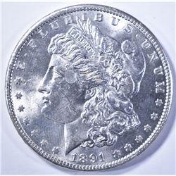 1891 MORGAN DOLLAR CH BU BETTER DATE