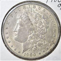 1900-O/CC MORGAN DOLLAR, AU