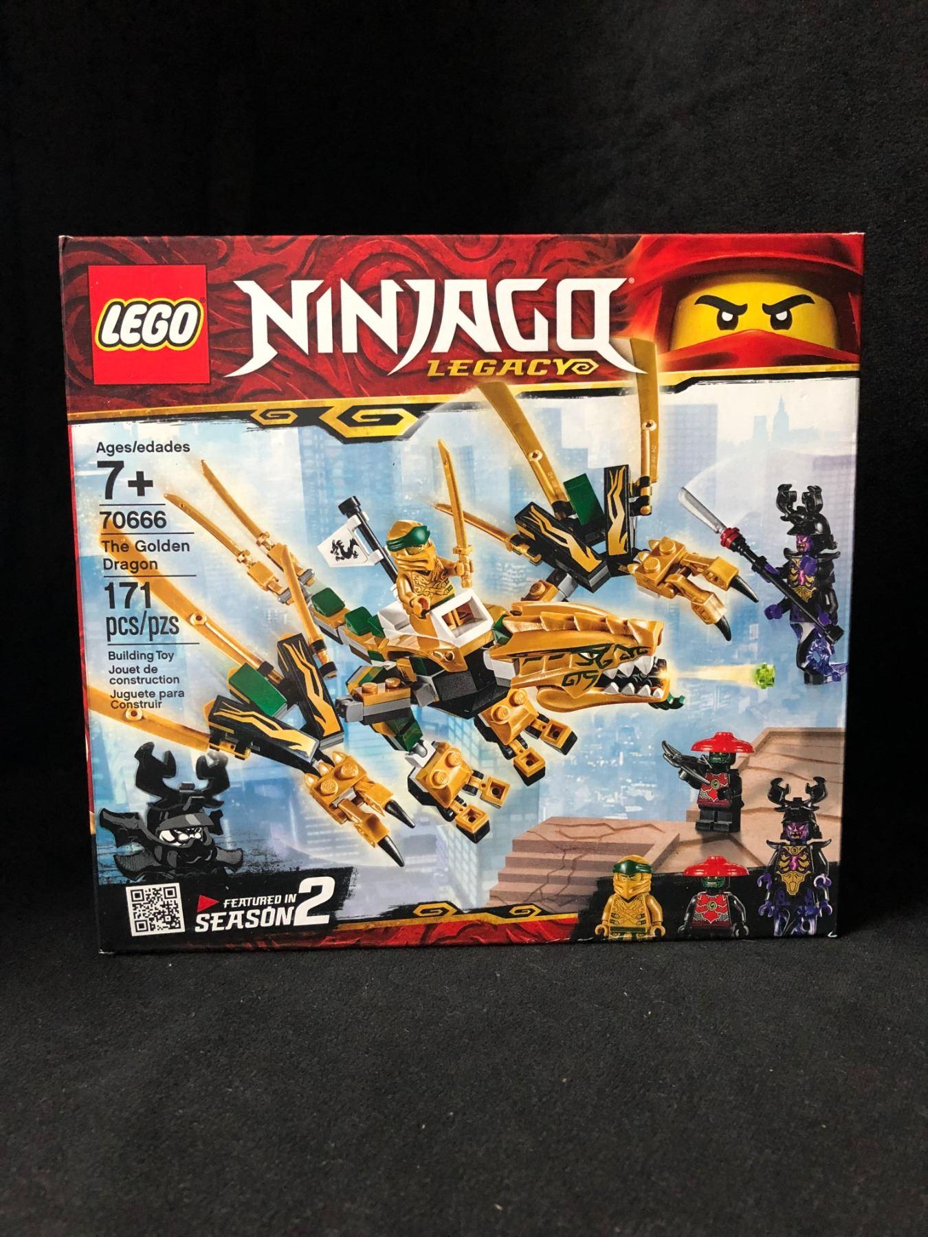 Legacy Dragon Golden Building Kit171 Pcs 70666 Ninjago Lego sxQdhtCr