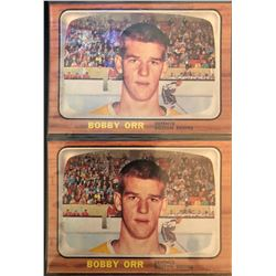 1966-67 Rookie Reprint X 2 Bobby Orr Card #35