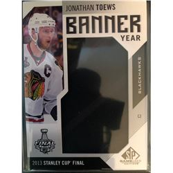 2016-17 SP Game Used Banner Year Jonathan Toews
