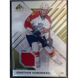 2016-17 SP Game Used Gold Material Jonathan Huberdeau