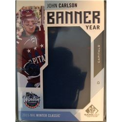 2016-17 SP Game Used Banner Year John Carlson