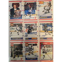 Wayne Gretzky 9 Card Lot Season Leader, Magician,