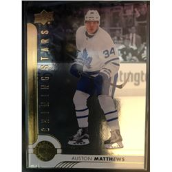 2017-18 Upper Deck Shining Stars Auston Matthews