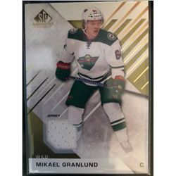 2016-17 SP Game Used Gold Materials Mikael Granlund