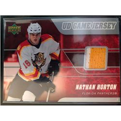 2006-07 Upper Deck Game Jersey Nathan Horton #J2-NH