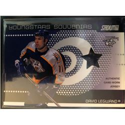 2002-03 Topps Youngstars David Legwand Jersey #YSS-8