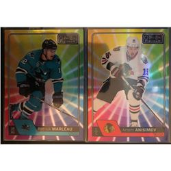 2016-17 O-Pee-Chee Rainbow Color Wheel Patrick Marleau