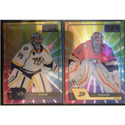2016-17 O-Pee-Chee Rainbow Color Wheel Pekka Rinne