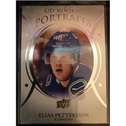 2018-19 Upper Deck Rookie Portraits Elias Pettersson