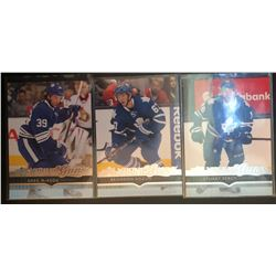 2014-15 Upper Deck Young Guns 3 Card Lot Maple Leafs