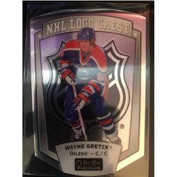 2016-17 O-Pee-Chee NHL Logo Crest Wayne Gretzky