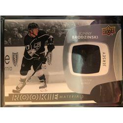 2017-18 Upper Deck Rookie Materials Jonny Brodzinski