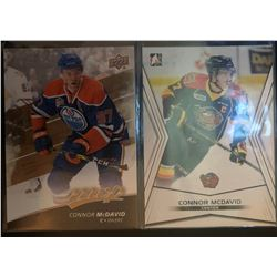 2014-15 Leaf In The Game Pre Rookie Connor Mcdavid #01