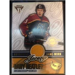2002-03 Pacific Private Stock Jersey Dany Heatley #2