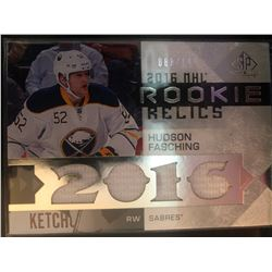 2016-17 SP Game Used Rookie Relics Hudson Fasching