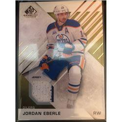 2016-17 SP Game Used Gold Materials Jordan Eberle #71