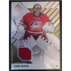 2016-17 SP Game Used Gold Materials Cam Ward