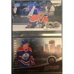 2016-17 Mvp NHL Territory Connor Mcdavid #312, And