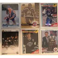 Wayne Gretzky 6 Card Lot O-Pee-Chee, Upper Deck