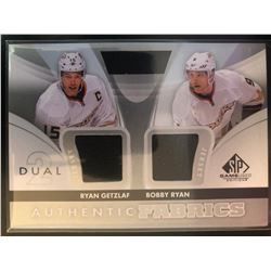 2012-13 SP Game Used Authentic Fabrics Ryan Getzlaf,
