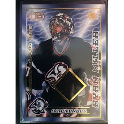 2003-04 Pacific Heads Up Game Worn Jersey Ryan Miller
