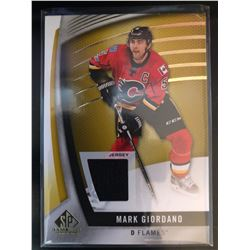 2016-17 SP Game Used Gold Materials Mark Giordano