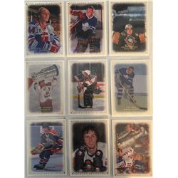 2008-09 Upper Deck Masterpieces 9 Card Lot, Syl Apps,