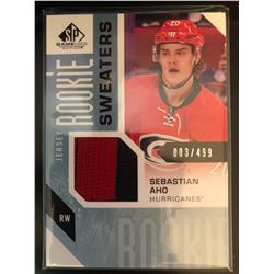 2016-17 SP Game Used Rookie Sweaters Sebastion Aho
