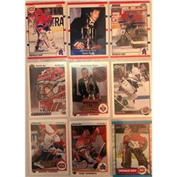 Patrick Roy 9 Card Lot Upper Deck, 1989-90 O-Pee-Chee,