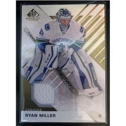2016-17 SP Game Used Gold Materials Ryan Miller #47