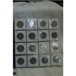 Canada Fifty Cent Coins (17)