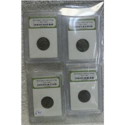U.S.A. Buffalo Nickel (4)