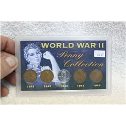 U.S.A. World War II Penny Collection
