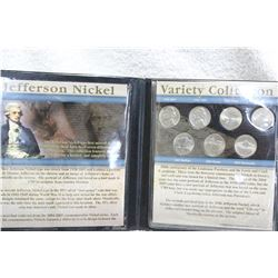 U.S.A. Jefferson Nickel Collection (7 Nickels)