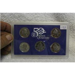 U.S.A. Five State Quarters