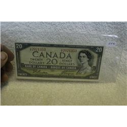 Canada Twenty Dollar Bill (1)