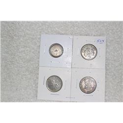 British Money - 4 Coins