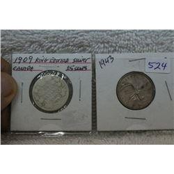Canada Twenty-five Cent Coin (2)