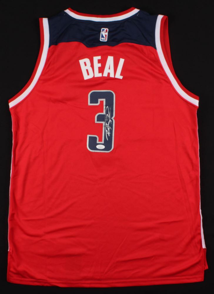 new style 0953a cbd94 Bradley Beal Signed Washington Wizards Jersey (JSA COA)