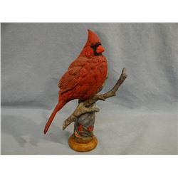 Cardinal resin sculpture, 2006/2007 DU