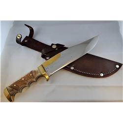 """Jody Martin knife, """"Montana Martin, Shelby, MT, 8 1/2"""" blade"""