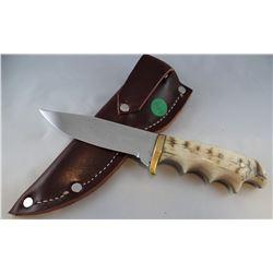 """Jody Martin knife, bone handle, 4 3/4""""  blade"""