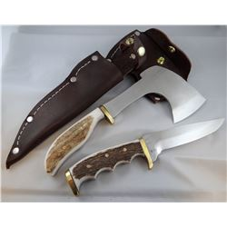 Jody Martin hatchet/knife Combo