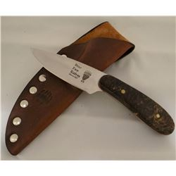 """Bear Paw, Havre, MT, wood handle, 3 1/2"""" blade"""