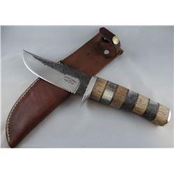 "Montana Hammer knife, Hickory Elk, 5"" blade"