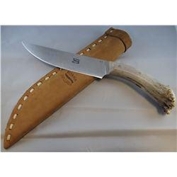 """Ruana Explorer, Lewis & Clark, antler handle #26, 6 1/2"""" blade w/paperwork"""